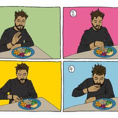 Indian Eating Diagrams