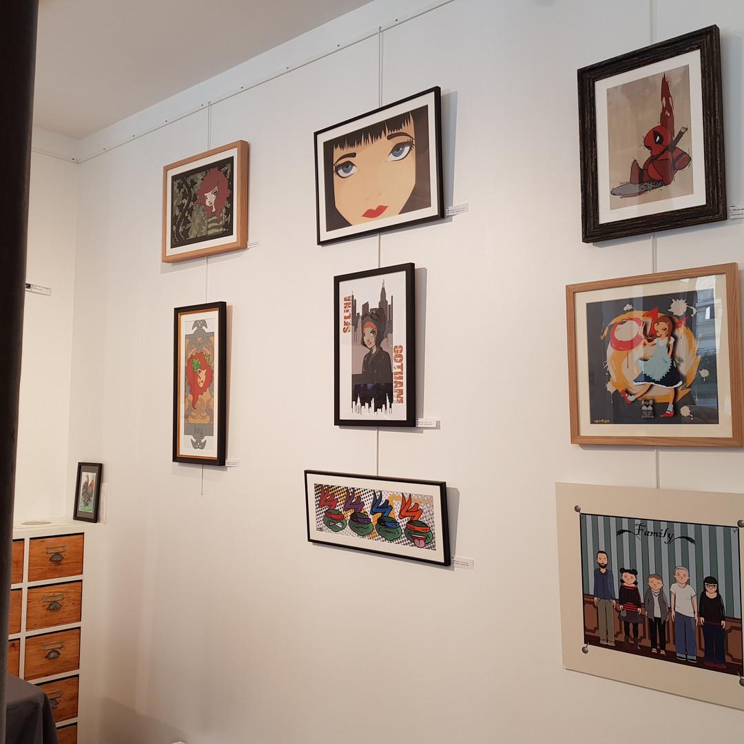 Galerie Louchard Paris 19ème
