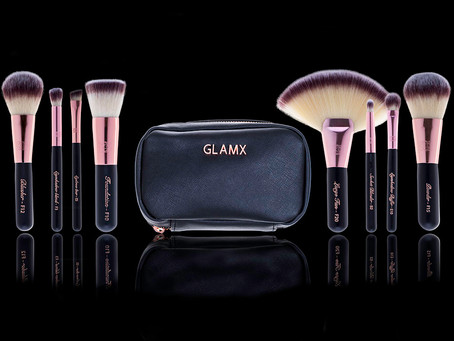 Professional Makeup Brushes in Travel Size