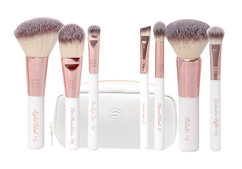 7 Piece Luxury Makeup Brush set