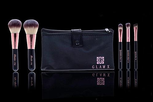 5 Piece Makeup Brush Set - Essential