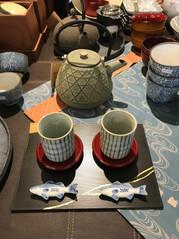 Mugs et théière