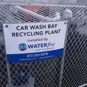 CAR WASH BAY WATER TREATMENT PLANT Engen Humewood