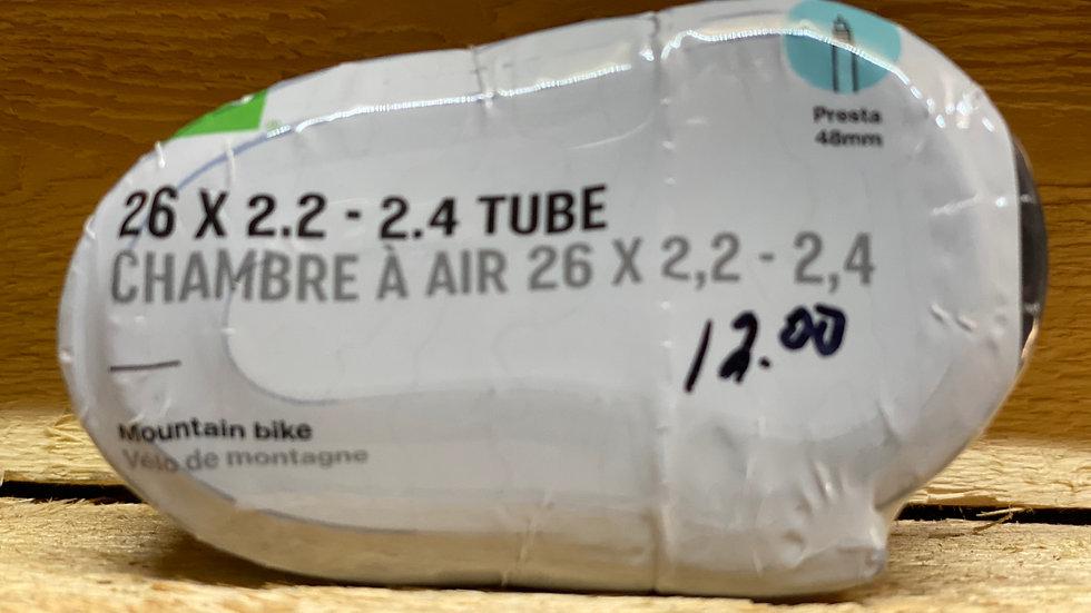26x2.2-2.4 tire tube MEC