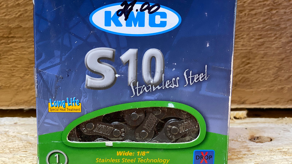 KMC 1 sp stainless steel no rust chain