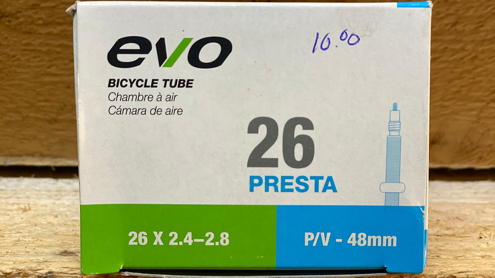 26x2.4-2.8  tire tube EVO