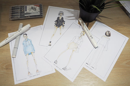 Personalised Fashion Illustration