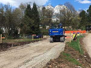 Bauunternehmen Region Esslingen - Straßenbau Esslingen, Außenanlagen Esslingen, Parkplatzanlagen Esslingen, Pflaster- und Wegebau Esslingen