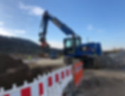 Tiefbau Bauunternehmen - Bauunternehmen Weidler - Tiefbau, Kabel- und Leitungsbau Region Schorndorf