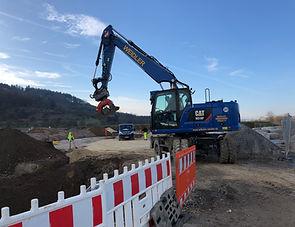 Tiefbau Bauunternehmen für Aalen - Bauunternehmen Weidler - Tiefbau, Kabel- und Leitungsbau Region Aalen