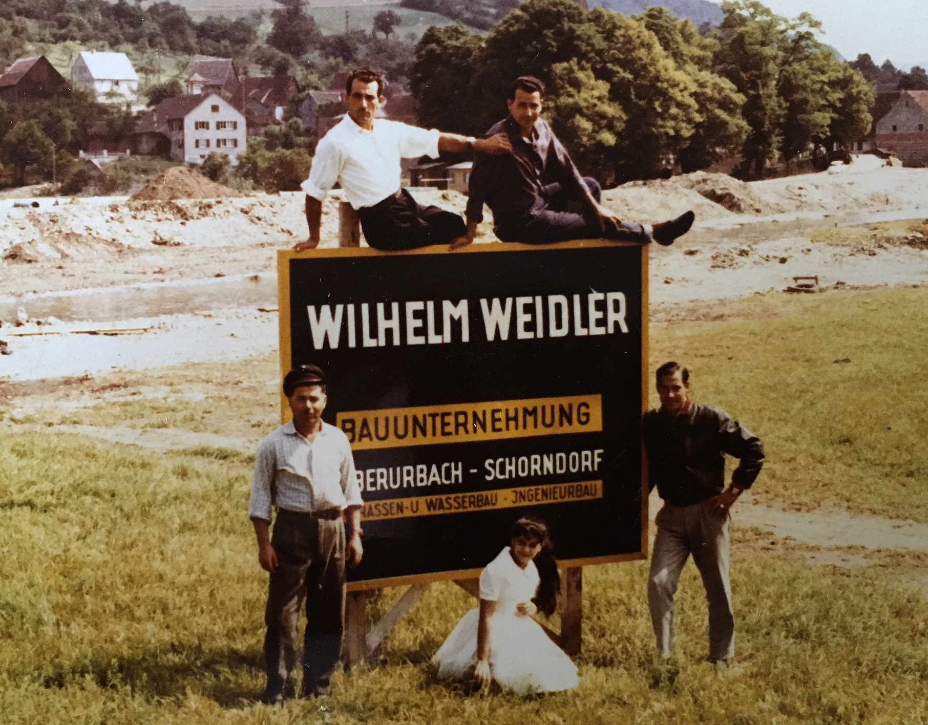 Wilhelm Weidler Firmschild