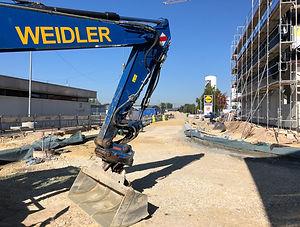 Bauunternehmen Straßenbau - Bauunternehmen Weidler - Straßenbau Aalen und Straßenbau in Aalen und Region Aalen