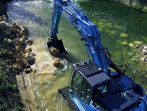 Bauunernehmen Wasserbau Region Murrhardt - Wasserbau Murrhardt, Ufer- und Böschungen, Rückhaltebecken Murrhardt