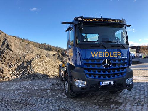 Mercedes-Benz Arocs von Wilhelm Weidler - www.wilhelm-weidler.de