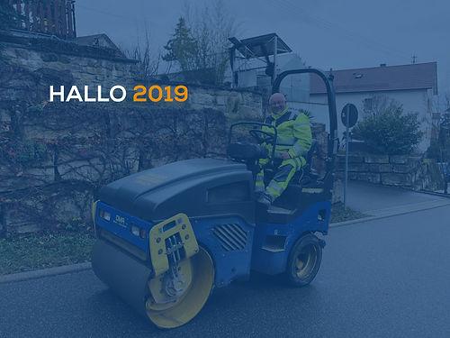 Bauunternehmung www.wilhelm-weidler.de - Hallo 2019
