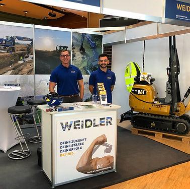 Job und Karrieretage Schorndorf 2019 mit Bauunternehmung Wilhelm Weidler GmbH & Co. KG - www.wilhelm-weidler.de