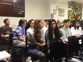 מפגש עם הקהילה היהודית בברצלונה