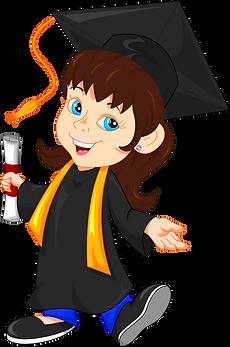 Graduate Girl Clipart png