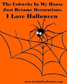 Cobweb Decorations Halloween Meme