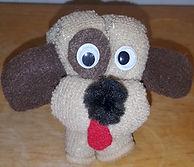 Wash Cloth Puppy Dog 2