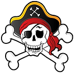 Skull and Crosssbones FREE SVG and PNG