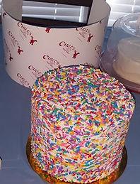 cake Boss Rainbow Cake