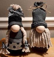 Easy DIY Gnome Couple