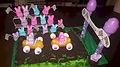 Peep Bunny Race Track Cake