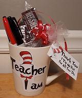 Dr Seuss Teacher I Am Mug