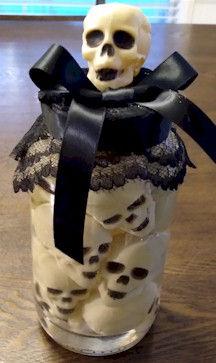 Skull Jar Craft