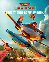 Planes Fire and Rescue Educational Activity Book