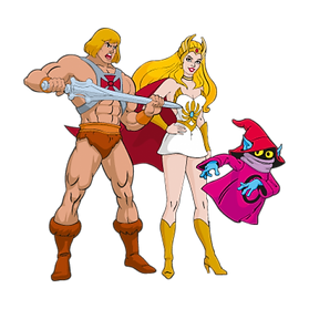HeMan SheRa Orko Masters of the Universe Clipart