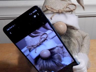 Gnome Phone Holder