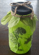 Dinosaur Jar from a Spaghetti Sauce Jar