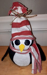 No Sew Sock Penguin