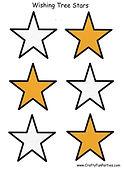 Wishing Tree Stars Printable