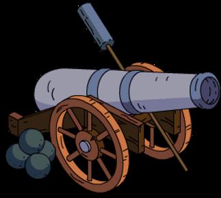 pirate cannon clipart