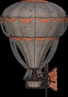 Steampunk Balloon Clipart PNG