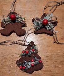 Applesauce Cinnamon Ornaments Accents