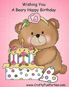 Beary Happy Birthday Meme