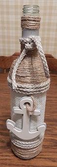 Nautical Wine Bottle