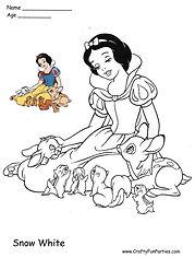 Color Snow White