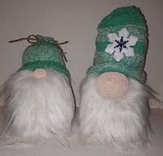 Green Winter Gnomes