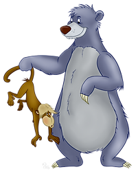 Baloo Clipart png