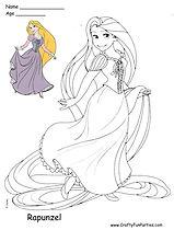 Color Rapunzel