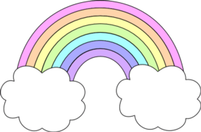 Rainbow Clipart Pastels