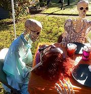 Skeleton Feast Carving