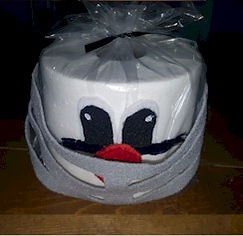 Football Player Toilet Paper Prize