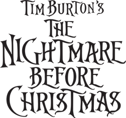 Nightmare Before Christmas Logo Clipart