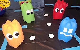 80s Theme Pac Man Pop Bottles